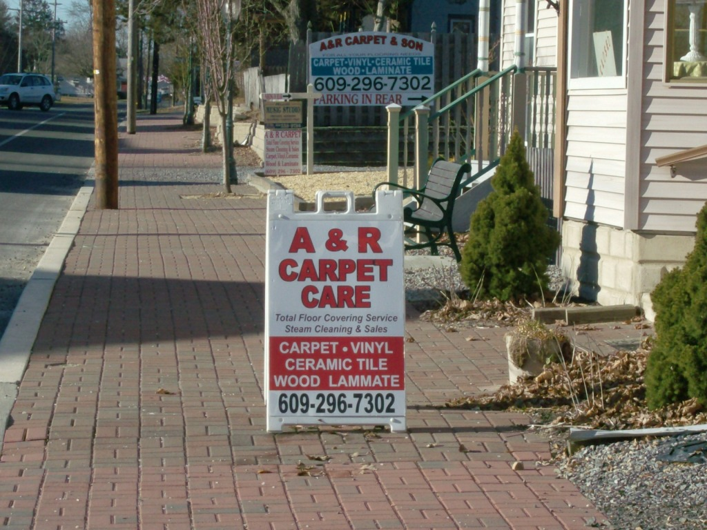 A & R Carpets 609 296 7302 West Creek, NJ Carpet Sales and Cleaning